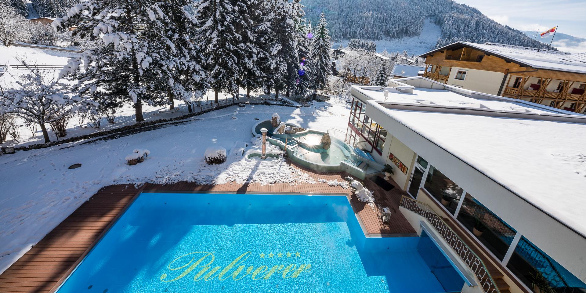 Schifahren, Winterwandern, Wellness, Therme, Kulinarik im Pulverer