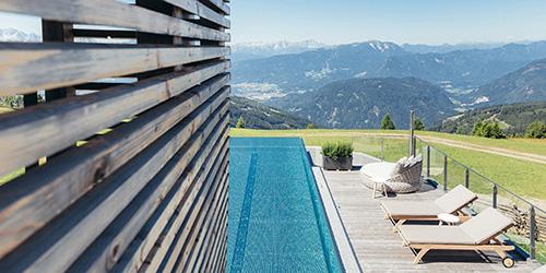 Am Gipfel der Gerlitzen: Wanderhotel Pacheiner